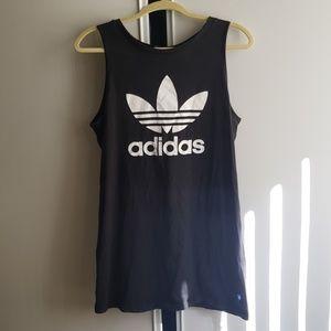 Adidas cotton dress tank sleeveless